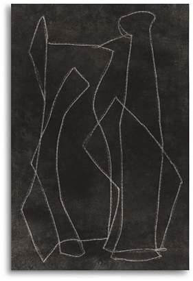 "Art Addiction Inc. Blind Drawing #1 Wall Art, 47"" x 35"""