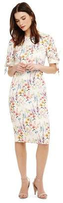 Phase Eight White Bella Floral Dress