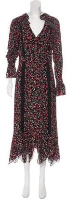 Thakoon Long Sleeve Maxi Dress