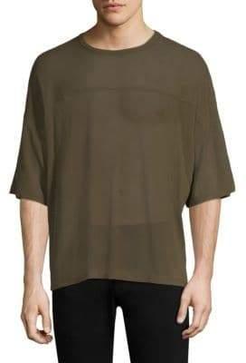 Short Sleeve Mesh Tee