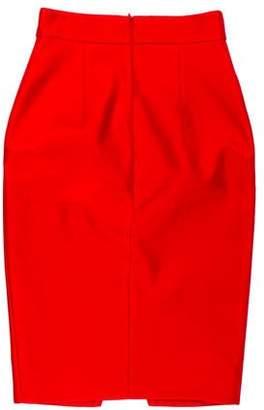 Nicholas Silk Pencil Skirt