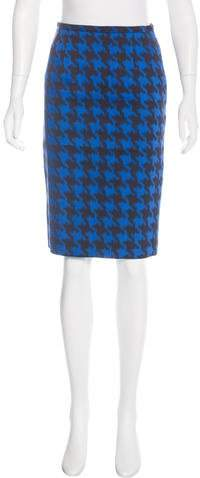 Michael Kors Patterned Knee-Length Skirt
