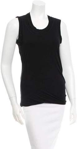 Christian Dior Black Sleeveless Top