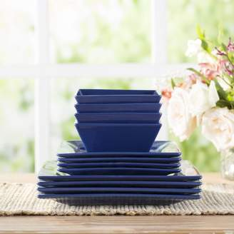 Wayfair Basics Wayfair Basics 12 Piece Square Dinnerware Set, Service for 4