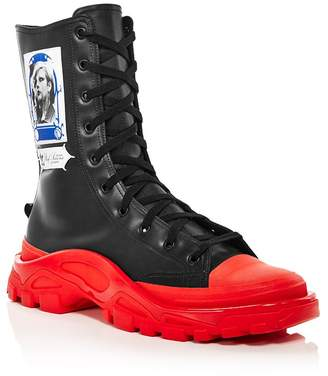 Raf Simons for Adidas Women's Detroit High-Top Sneakers