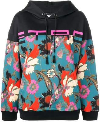 Etro printed hoodie