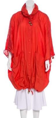 Stella McCartney Silk-Blend Lightweight Jacket