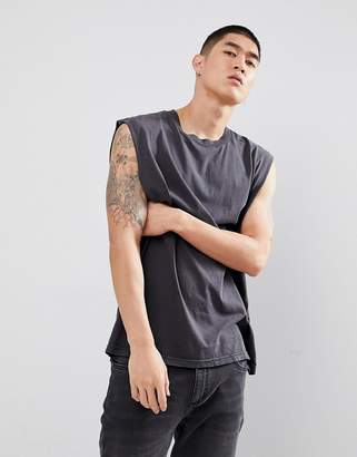 Cheap Monday Sound Tank in Washed Black