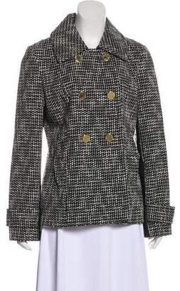 Tory Burch Knit Bouclé Short Coat
