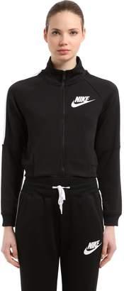 Nike N98 Cropped Polyknit Track Jacket