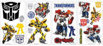 York Wall Coverings York Wallcoverings Transformers Autobots Peel and Stick Wall Decals