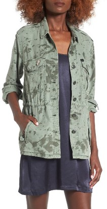 Women's Obey Charlie Military Jacket $106 thestylecure.com