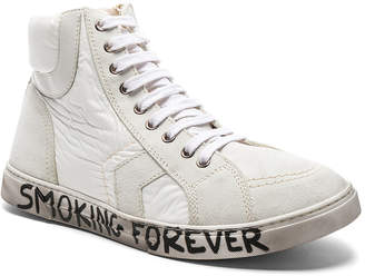 Saint Laurent Smoking Forever High Top Sneakers