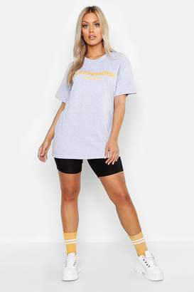 boohoo Plus Copenhagen Oversized T-Shirt