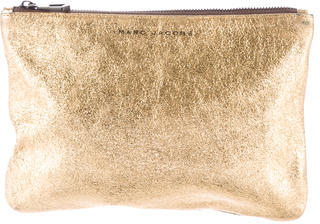 Marc Jacobs Marc Jacobs Metallic Cosmetic Bag