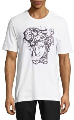 Logo Print Cotton Tee $295 thestylecure.com