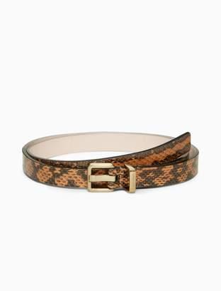 Calvin Klein harness logo belt