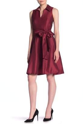 Robbie Bee Sleeveless Flare Dress
