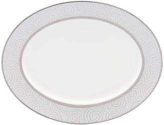 Lenox Pearl Beads Oval Platter