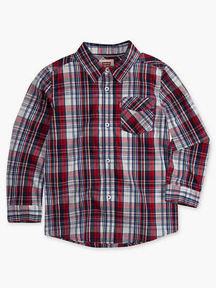 Levi's Toddler Boys 2T-4T Barstow Western Shirt Chambray 2T