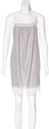 Loeffler Randall Embellished Sleeveless Dress
