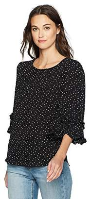 Max Studio Women's Printed Blouse