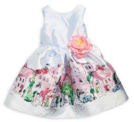 Little Girl's Floral Waist Dress $74 thestylecure.com