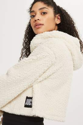 Juicy Couture **Sherpa Hoodie by Juicy LA