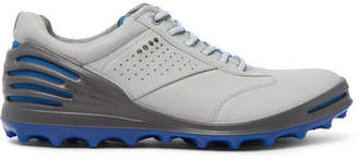 Ecco Cage Pro Hydromax Leather Golf Shoes - Men - Light gray