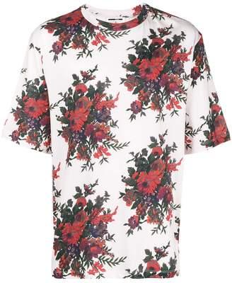 McQ floral-print T-shirt