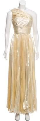 Maria Lucia Hohan Silk Asymmetrical Gown