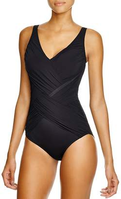 Gottex Lattice One Piece Swimsuit $158 thestylecure.com