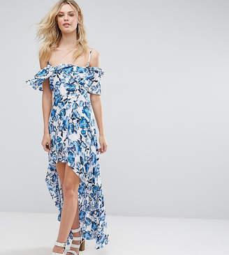 Missguided Tall Frill Detail Maxi Dress