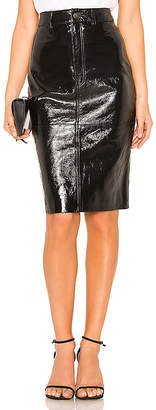 LPA Patent Pencil Skirt