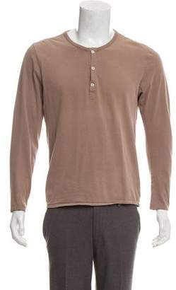 Maison Margiela Basic Henley T-Shirt