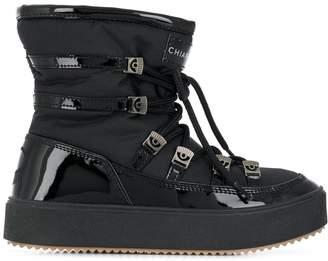 Chiara Ferragni lace-up ankle boots