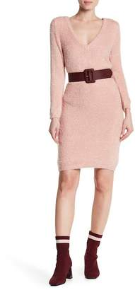 BB Dakota Valencia V-Neck Knit Dress