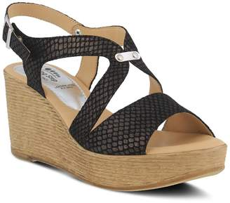 Spring Step Nevena Wedge Sandal