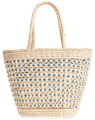 Nordstrom Woven Straw Tote
