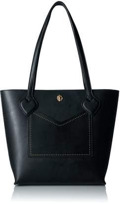 Anne Klein Tina Small Tote Tote Bag, BLACK - BLACK / BLACK