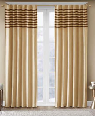 "Dune Madison Park Microsuede Stripe Pair of 42"" x 63"" Window Panels"