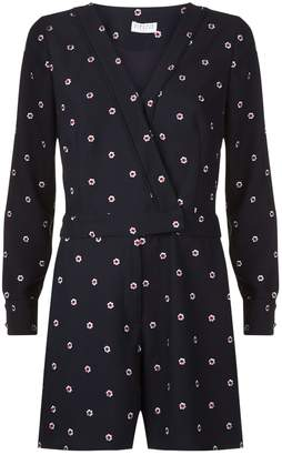 Claudie Pierlot Jericho Embroidered Playsuit
