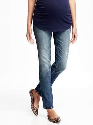 Old Navy Maternity Full-Panel Skinny Jeans