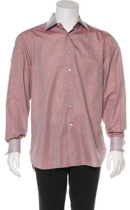 Stefano Ricci French Cuff Dress Shirt