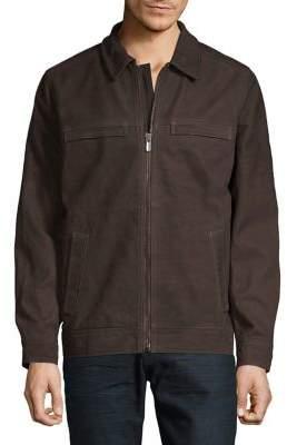 Tommy Bahama Elliot Bay Leather Jacket