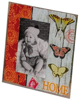 PD Global Butterfly Photo Frame