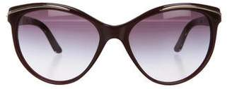 Bvlgari Embellished Cat-Eye Sunglasses