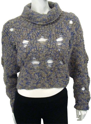 Rachel Comey Cropped Turtleneck Sweater
