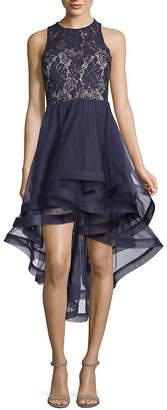 Speechless Sleeveless Embellished Dress Set-Juniors