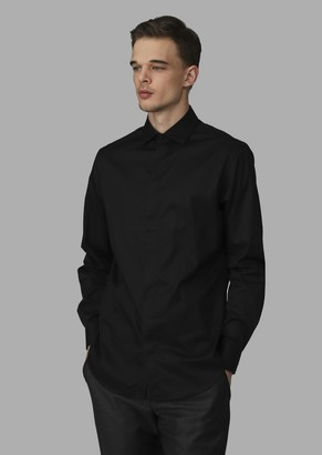 Giorgio Armani Regular-Fit Pure Cotton Shirt